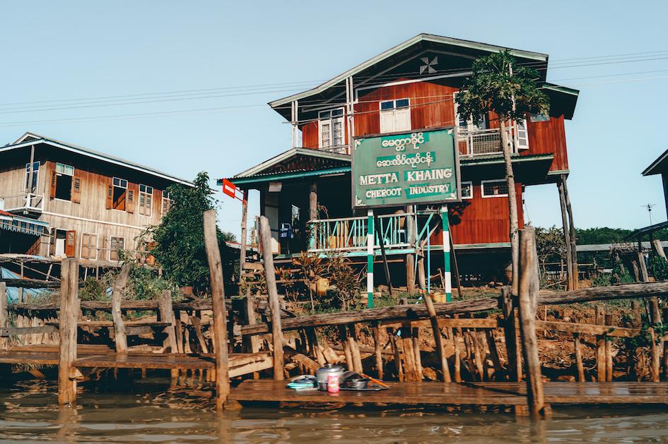 boottocht inle lake myanmar