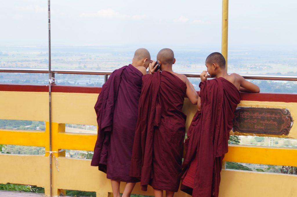 reisroute myanmar mandalay