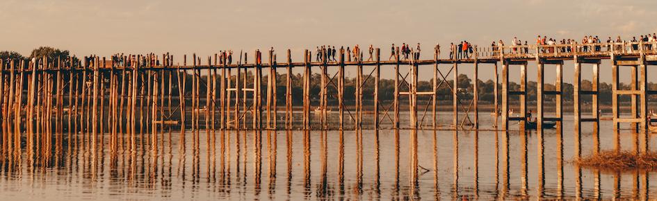 Reisroute Myanmar wat te doen Mandalay U Bein