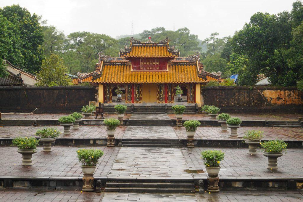 hue tips keizerlijke graven