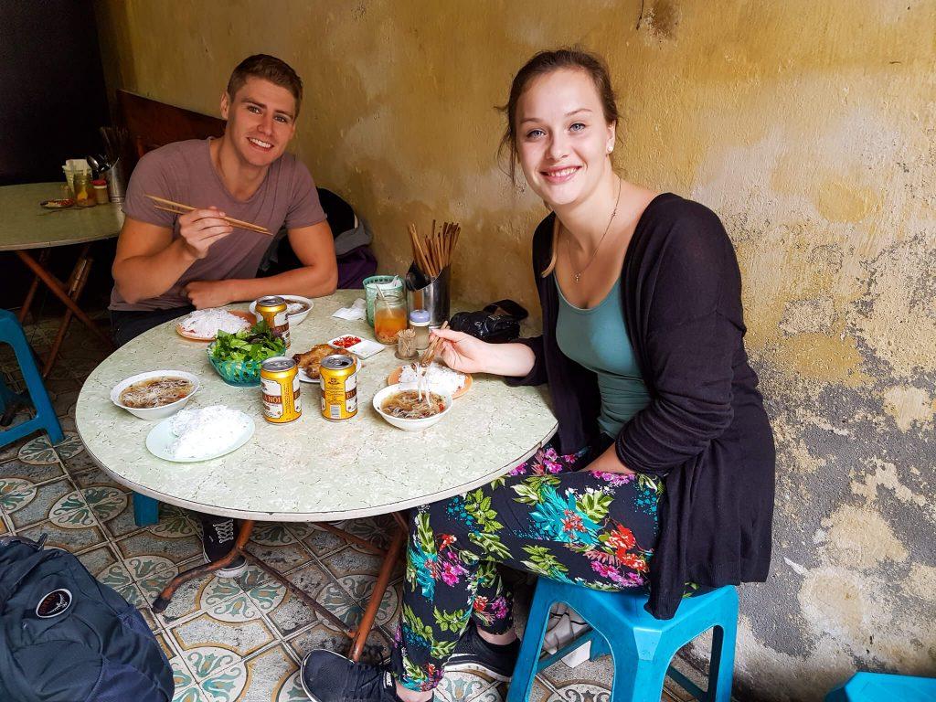 Street food tips hanoi