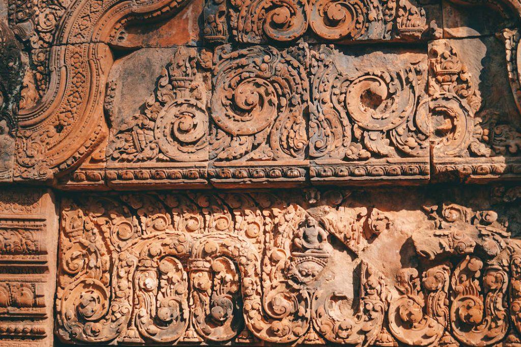 Banteay Srei Tempel Angkor Wat