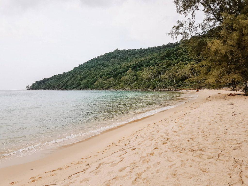 Stranden Koh Rong Samloem Lazy Beach