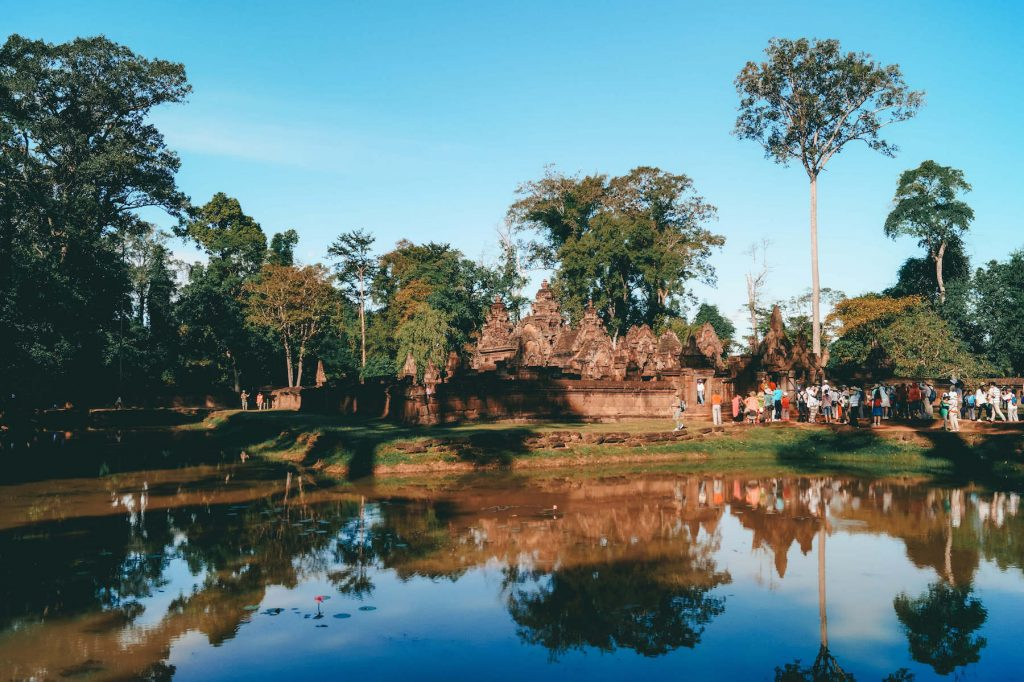Banteay Srei Tempel Angkor Wat Lady Tempel