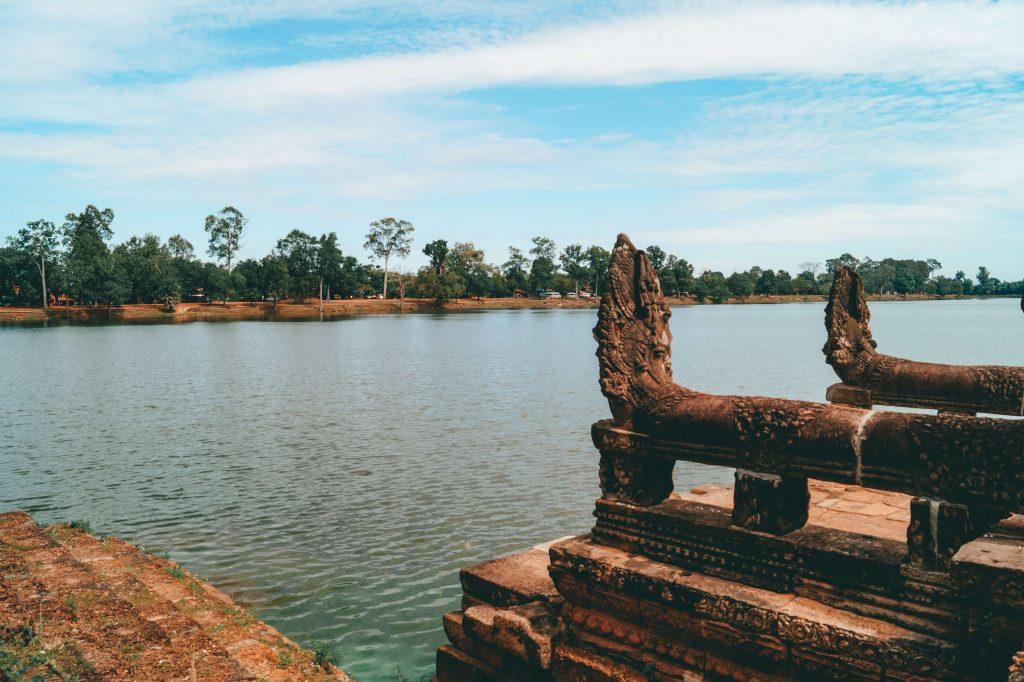 Sra Srang Angkor wat tempels