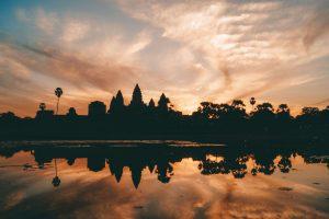 Angkor Wat zonsopkomst