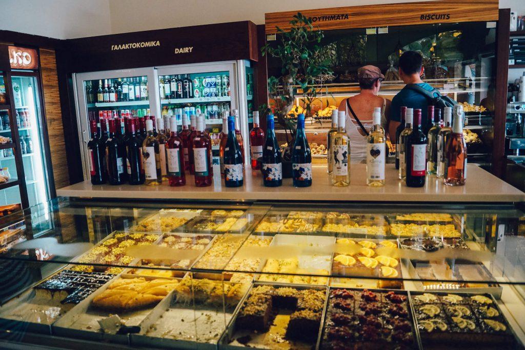 svoronos bakery fira
