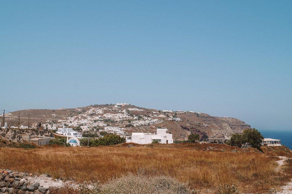 Bezienswaardigheden Santorini