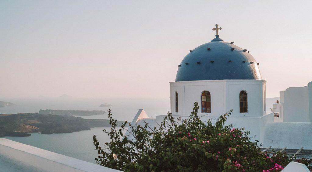 Santorini Bezienswaardigheden Imerovigli
