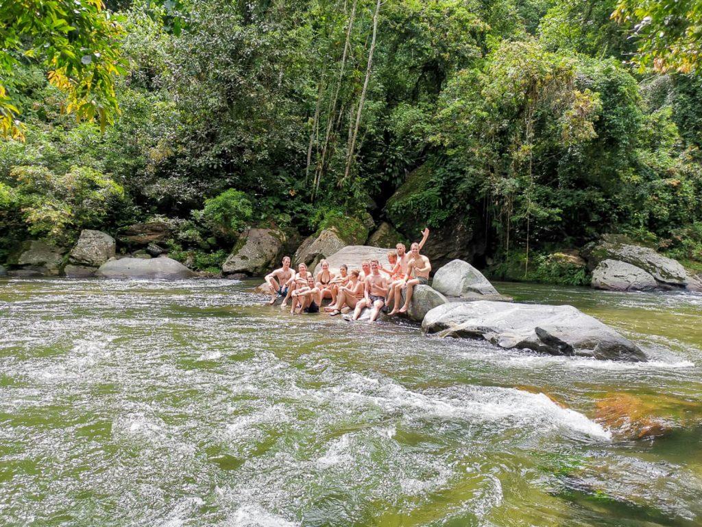zwemmen hike ciudad perdida