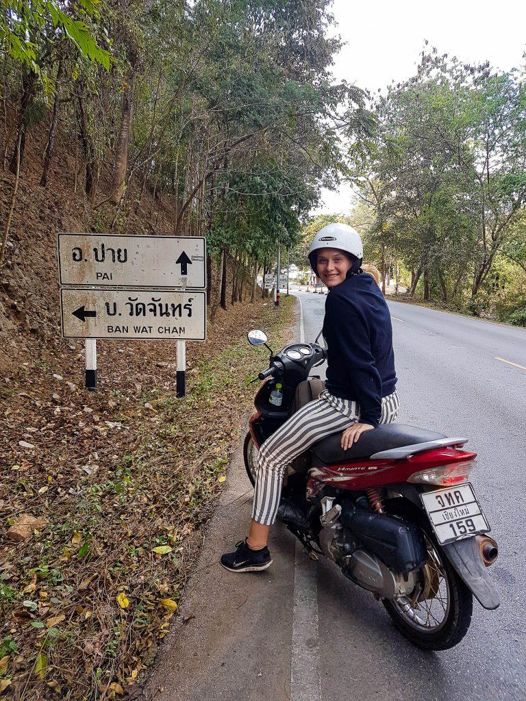 scooter naar Pai