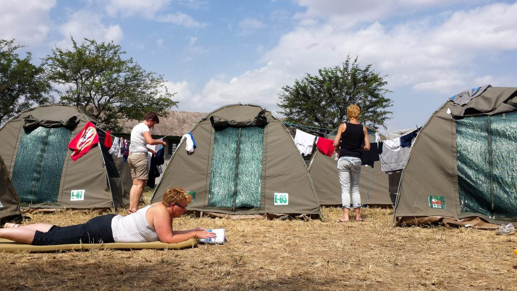 kamperen serengeti