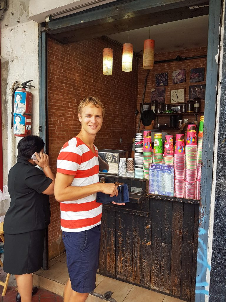 koffie spot Rambuttri