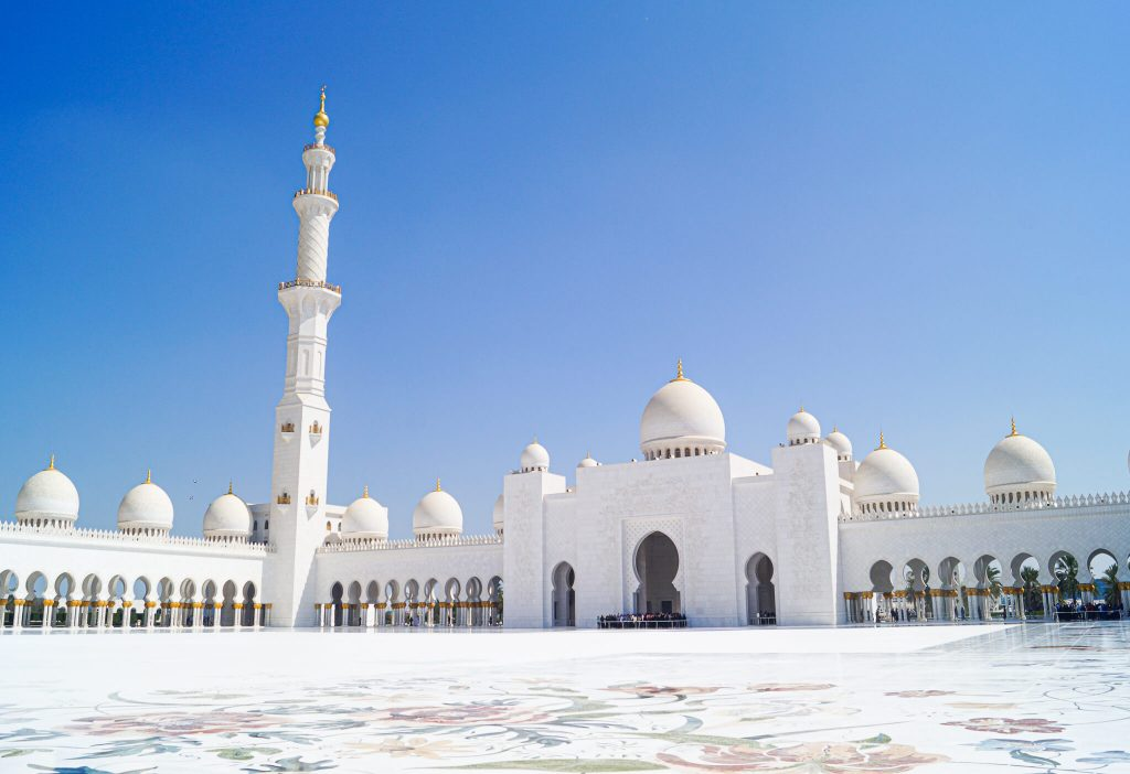 Bezoek Sheikh Zayed Grand Mosque