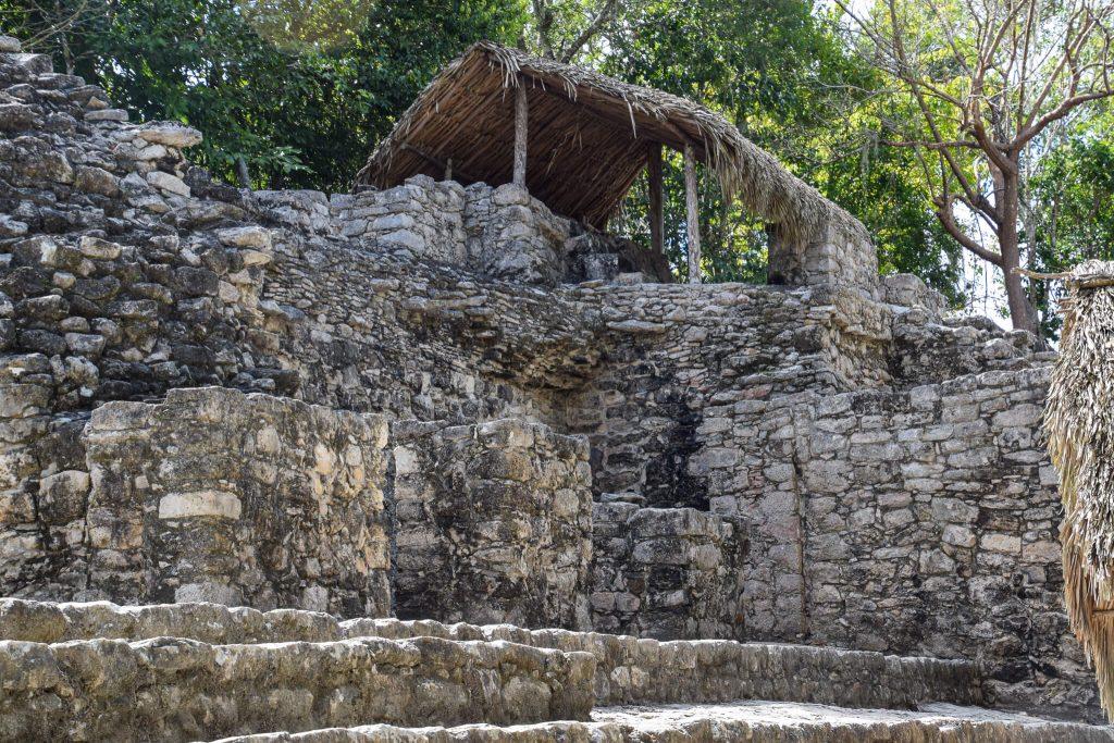 Cobá maya ruïnes