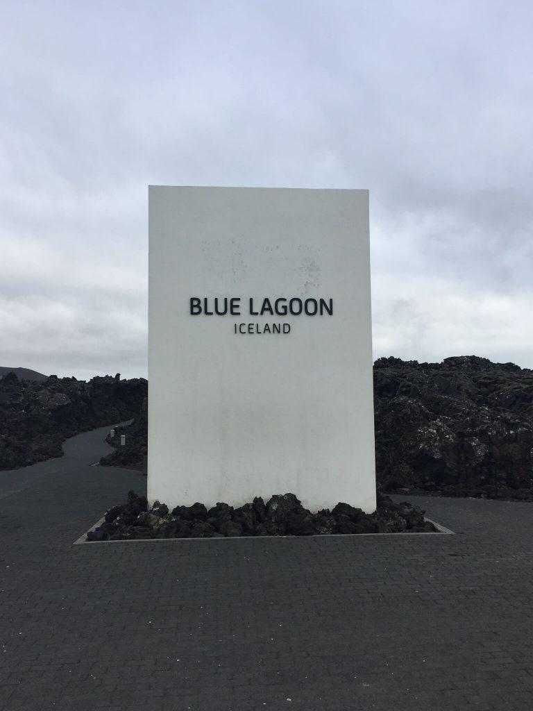 Entree Blue Lagoon