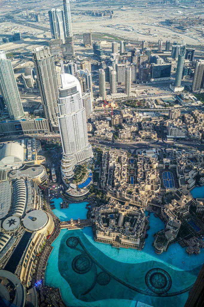 Uitzicht Burj Khalifa