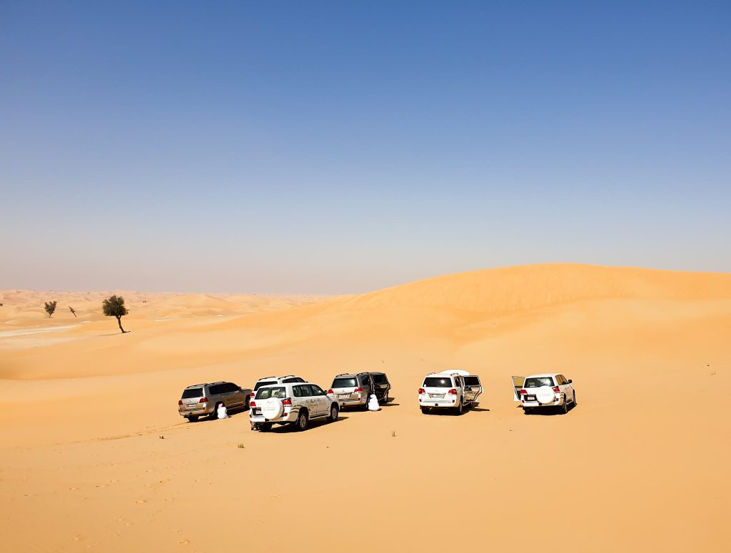 jeep woestijnsafari