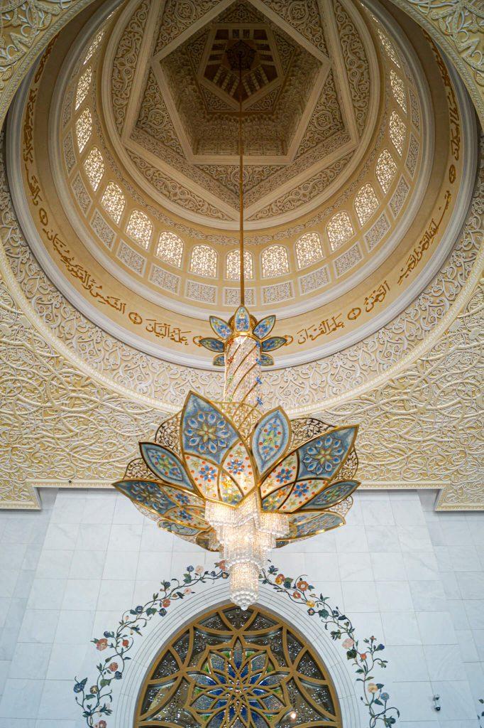 kroonluchter moskee