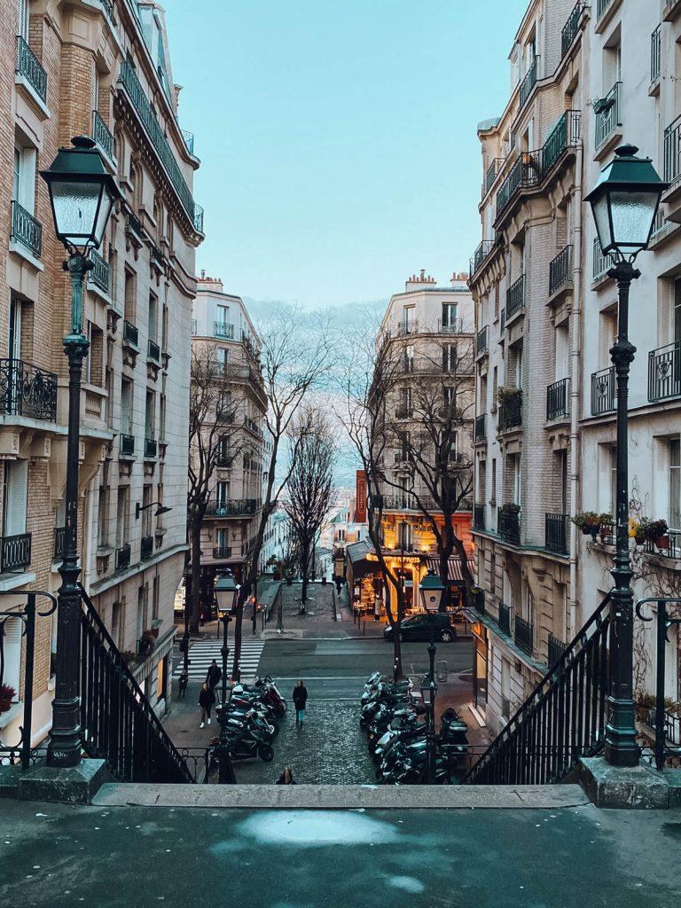 een dag in parijs straatjes