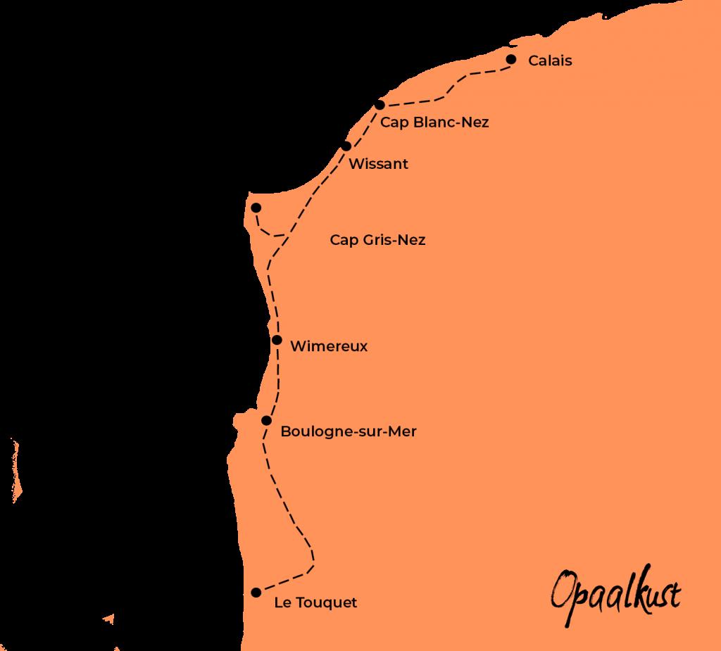 Route opaalkust