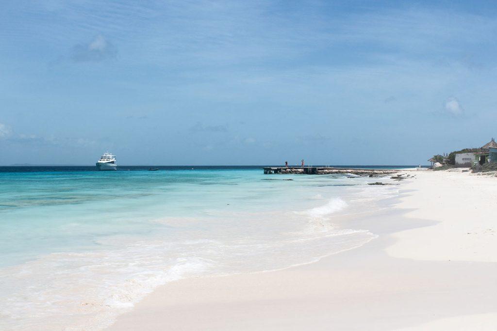 Klein Curacao stranden