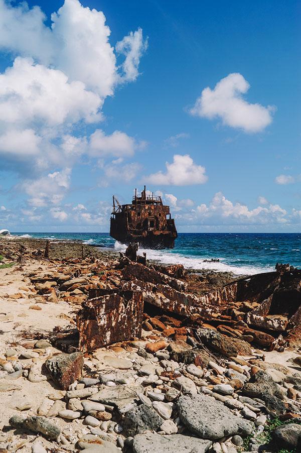 Klein Curacao scheepswrak