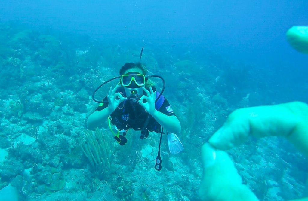 Leren duiken Curacao