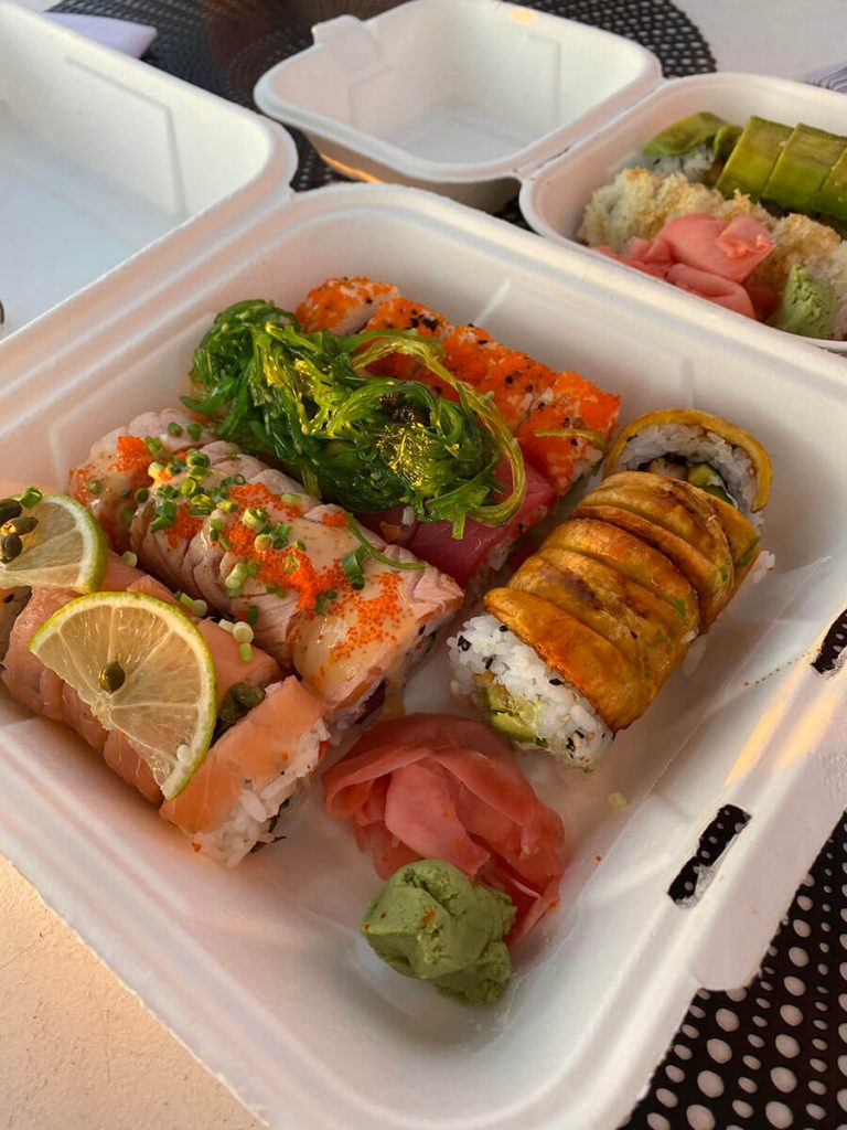 Sushi Jan Thiel Curacao