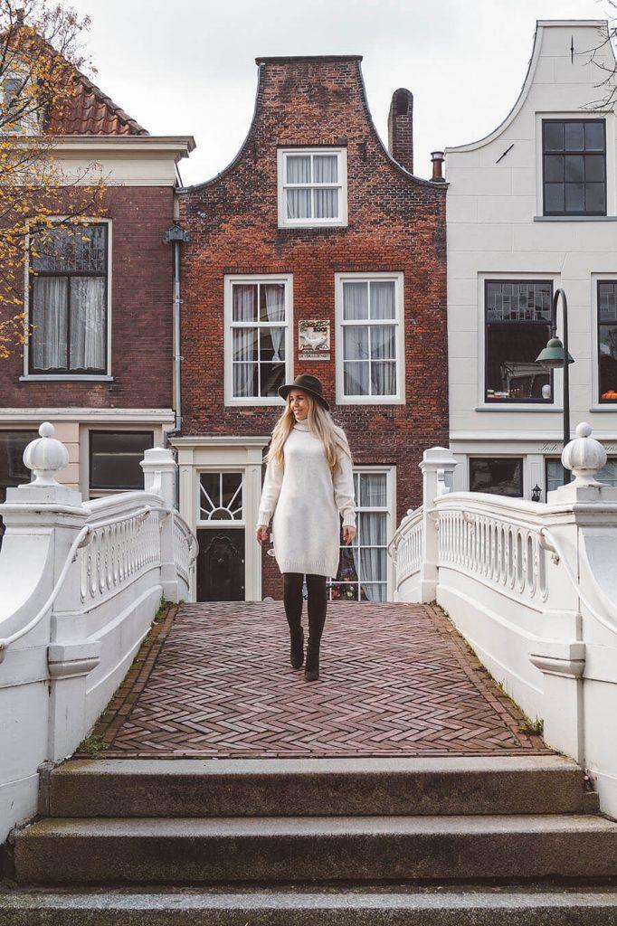 instagram spots Delft visbrug