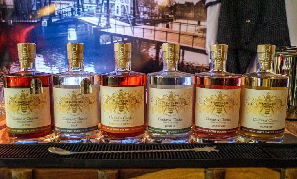 Serious Bee Distillers mead brands