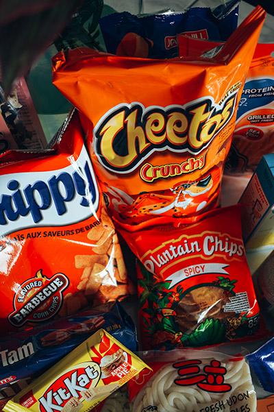 Buitenlandse snacks