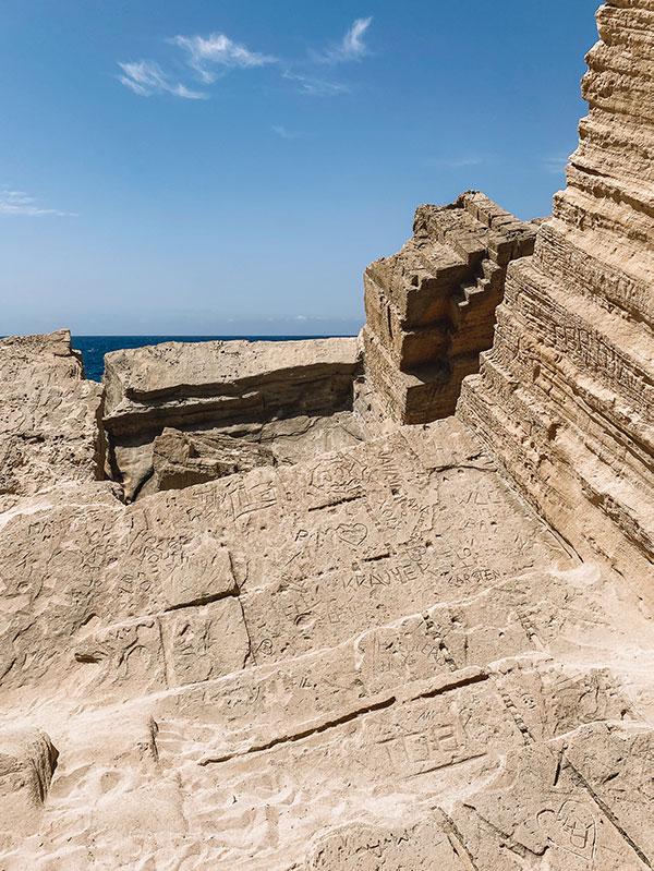 Rotsformaties Atlantis