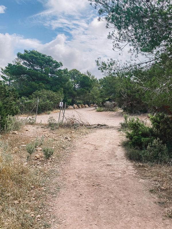 Route naar Es Vedra