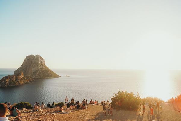 Zonsondergang Es Vedra Ibiza