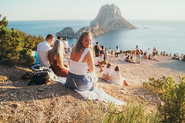 Zonsondergang Ibiza Es Vedra